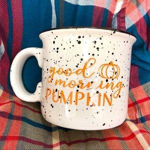 Good Morning Pumpkin Mug🧡